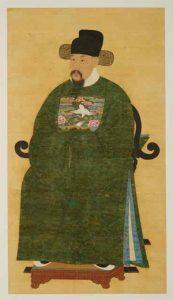 황신(黃愼, 1562-1617)의 초상화