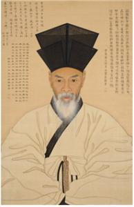 이채의 초상화. 이 그림은 보물 제1483호로 지정되어 있다.