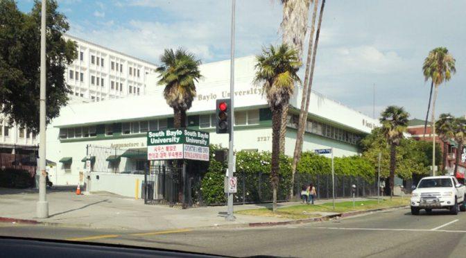 미국 LA-South Baylo University 순회강연 자료