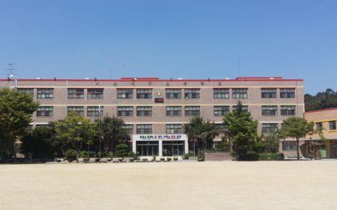 정곡초등학교 교정