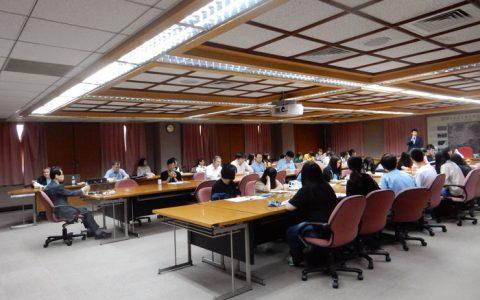 대만 정치대학교 해외순회강연회 모습