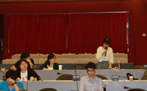 대만 사범대학교 해외순회강연 모습